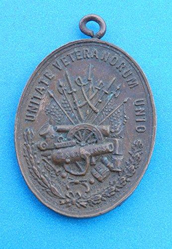 Civil War Bugle Union - Bronze Badge of Veterans Union, Sons of the Union 1879 Civil War Medal