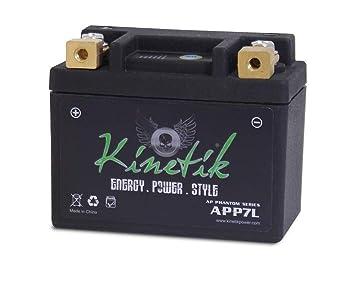 Amazon.com: LiFePO4 12V 7-9ah Battery for Kawasaki 600 ZX600 ...