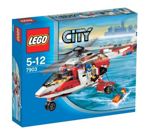 LEGO City 7903 Rescue Helicopter (Helicopter Rescue Lego)