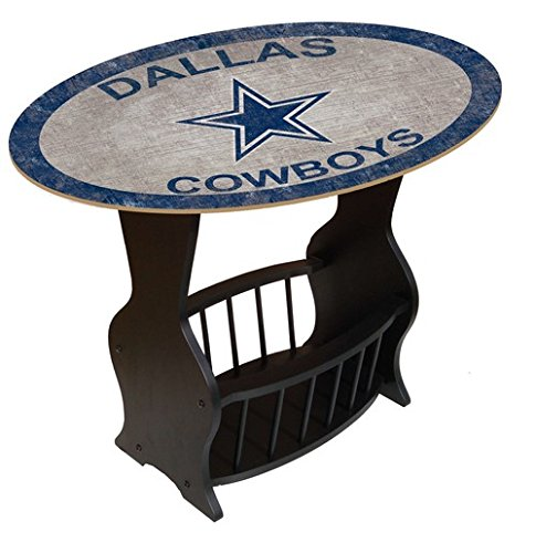 Fan Creations N0818-DAL Dallas Cowboys Distressed End Table