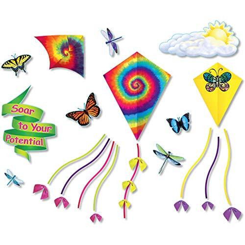 (North Star Teacher Resource NST3087 Soar to Your Potential Bulletin Board Set, 28 Pieces)