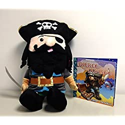 Bedtime Buddies - Pierce the Pirate - The Stuffed Friend That Tells a Bed Time Story with the Push of a Button - Great Gift for Kids of All Ages - Collect Them All!