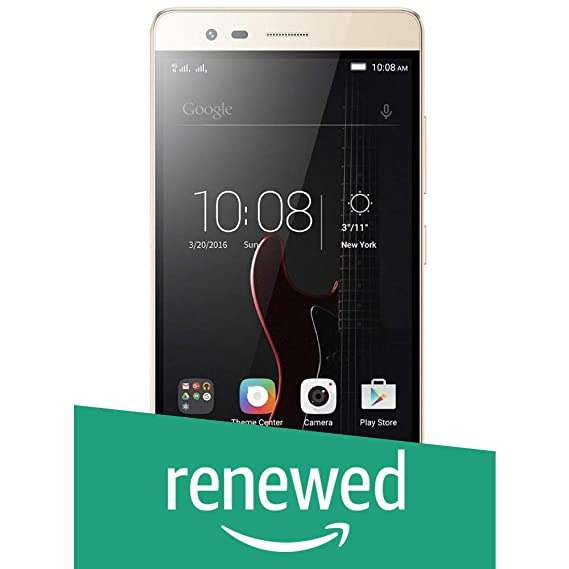 (Renewed) Lenovo Vibe K5 Note A7020a48 (Gold, 64GB)