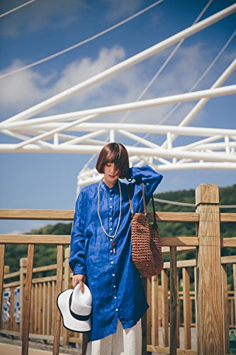 Bottoni Diboshi Donna Blue Basic Con Camicia Hvt6qg