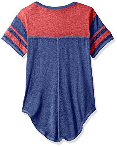 OuterStuff NFL Junior Girls Vintage Short Sleeve Football Tee