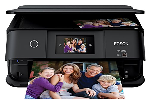 Ultra Premium Photo Paper Letter - Epson Expression Photo XP-8500 Wireless Color Photo Printer with Scanner and Copier, Amazon Dash Replenishment Enabled