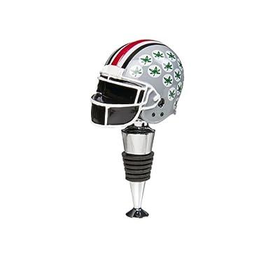 Ohio State Buckeyes Football Helmet Wine Bottle Stopper