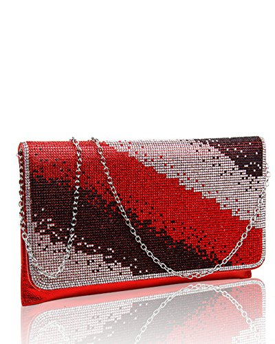 Pochette red pour FoxLady pour red femme FoxLady FoxLady femme Pochette Pochette tTRq7