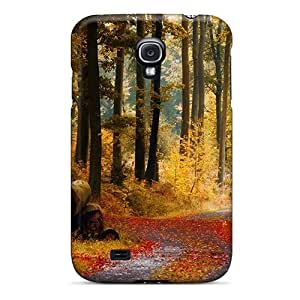 Cute Tpu TinnySunshine November Rain Case Cover For Galaxy S4