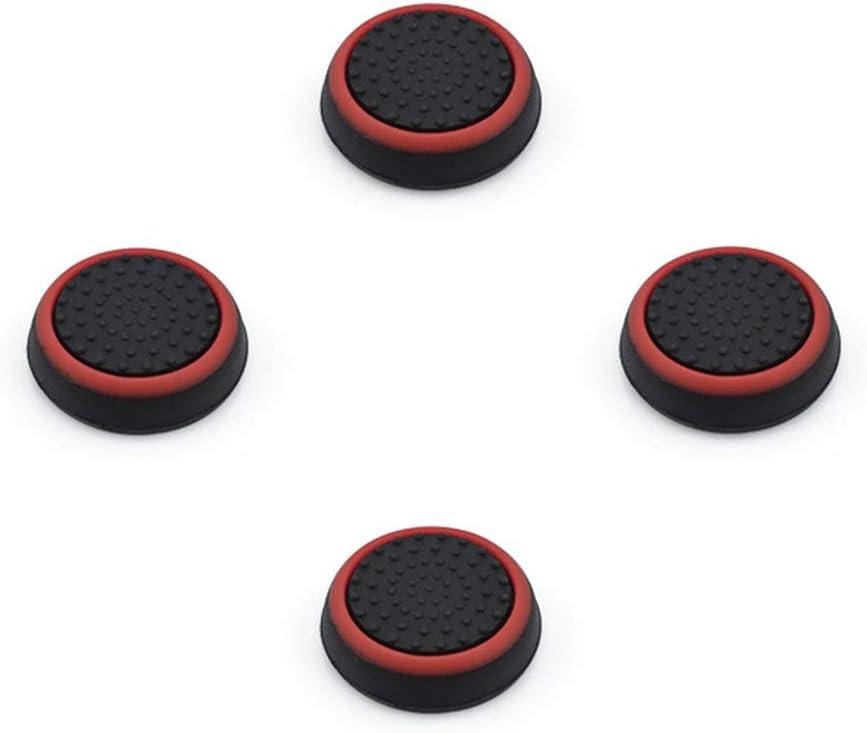 Noradtjcca Coperchi impugnature levette per Playstation 4 Ps4 PRO Sottili Protezioni analogiche in Silicone per Xbox Ps3 Accessori PS4