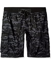 Southpole Men's Jogger Shorts with Cargo Pockets In Basic...