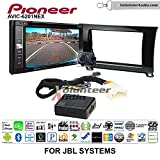 Pioneeer AVIC-6201NEX Double Din Radio Install Kit with GPS Navigation Apple CarPlay Android Auto Fits 2007-2017 Toyota Tundra with Amplified System (Piano Gloss Black)