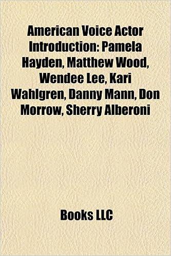 American voice actor Introduction: Pamela Hayden, Michael ...