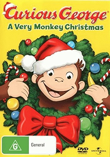 Curious George - A Very Monkey Christmas [NON-USA Format / PAL / Region 4 Import - Australia]
