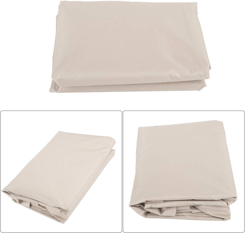 Borlai Conjunto de Cubierta de Columpio Cubierta Superior de Asiento de Dosel Impermeable Y Cubierta de Asiento de Columpio para Patio de Jard/ín