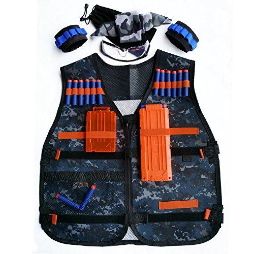 GFU-Tactical-Vest-Jacket-Kit-for-Nerf-Toy-Gun-N-strike-Elite-Series