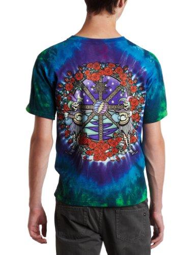 Liquid Blue Men's Grateful Dead Celtic Mandala Tie Dye T-Shirt