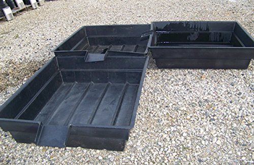 Three- Aquaponics - Hydroponics & Pond Grow Bed and Bio-Filter with 8''.Spillw... by MAN
