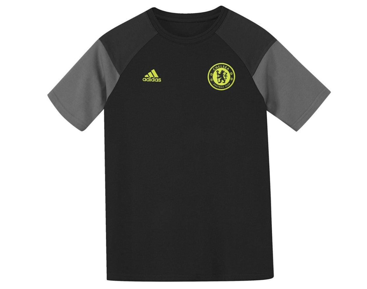 2016-2017 Chelsea Adidas Training Tee (Black) - Kids