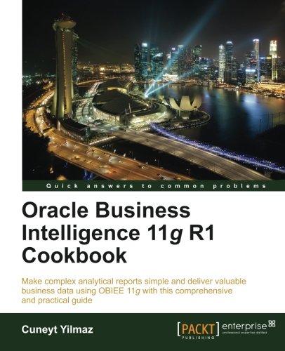 Oracle Business Intelligence 11g R1 Cookbook - Buy Online in