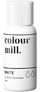 Colour Mill Oil-Based Food Coloring, 20 Milliliters White
