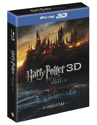 Harry Potter y las reliquias de la muerte Partes 1 y 2 Pack 3D Blu ...