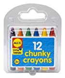 ALEX Toys Little Hands 12 Chunky Crayons