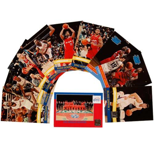 Gordon Clippers Eric (2010 / 2011 Donruss Basketball LOS ANGELES CLIPPERS Team Set 10 Cards Including Blake Griffin, Eric Gordon, Baron Davis, Chris Kaman, rookies of Eric Bledsoe, Al-Faroug Aminu and more!)