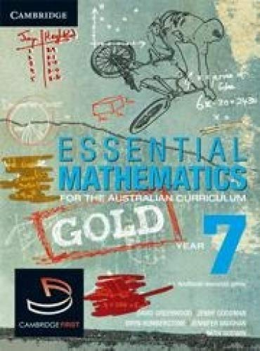 Download Essential Mathematics Gold for the Australian Curriculum Year 7 and Cambridge HOTmaths PDF