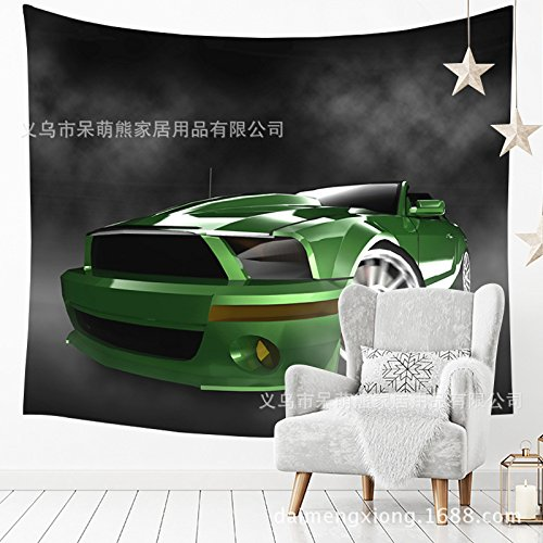150 130CM Tapestry Tapestries Decor Wall hanging Home cloth sports car hang cloth fresh and simple tapestry racing background wall tablecloth yoga beach towel home cloth 211120