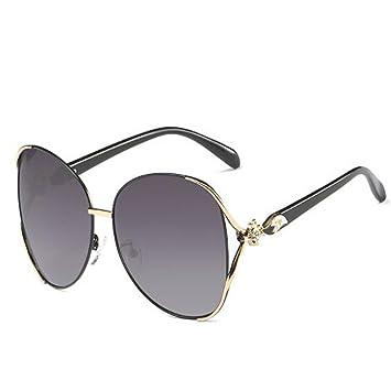 LQQAZY Gafas De Sol Polarizadas Cara Redonda Gafas De Sol ...