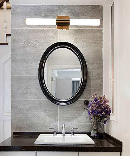 YHTlaeh Bathroom Vanity Light Brushed Nickel Tube Led 24 inch 14W Daylight -