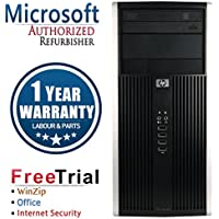 HP 6000 Pro Business High Performance Tower Desktop Computer PC (Intel C2D E8400 3.0G,4G RAM DDR3,1TB HDD,DVD-ROM,Windows 10 Professional)(Certified Refurbished)