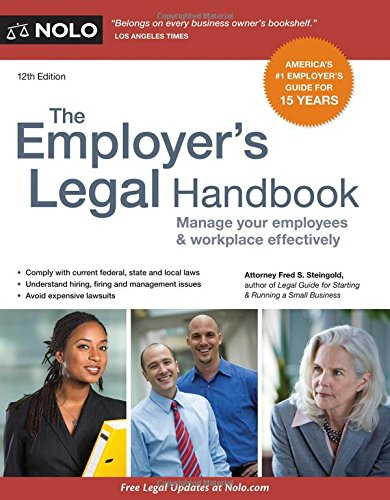 Employers Legal Handbook The Manage Your Employees & Workplace Effectively