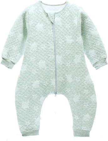 Mebeauty-baby Bolsa Impermeable para Dormir para bebés Saco De Dormir para Bebés 100% Algodón Manta De Vestir para Niños Pequeños (Color : Verde, tamaño : S): Amazon.es: Hogar