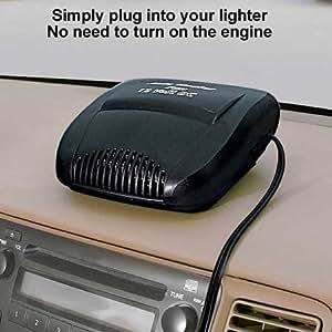 Amazon.com: Auto Ceramic Portable Car Heater Fan 12 Volt ...