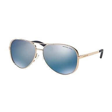 0e2d9b94850ed Michael Kors Chelsea Aviator Sunglasses at Amazon Women s Clothing ...