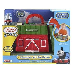 Thomas & Friends - Miniconjuntos portatiles Thomas (Mattel R9620)