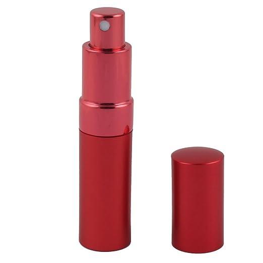 Amazon.com: eDealMax viaje del lápiz Labial portátil recargable Forma cosmética herramienta olor del Perfume Botella del aerosol del envase atomizador 15 ml ...