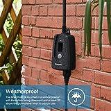 DEWENWILS Outdoor Light Sensor Timer, Weatherproof