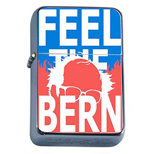 - Bernie Sanders Flip Top Dual Torch Lighter S2 Smoking Cigarette Smoker 420 Sexy Weed Double Flame Presidential Candidate