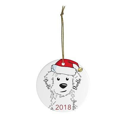 Amazon com: Georgia Barnard 2018 Doodle Dog Christmas