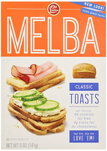 Old London, Classic Toast, 5 Ounce - Melba Toast
