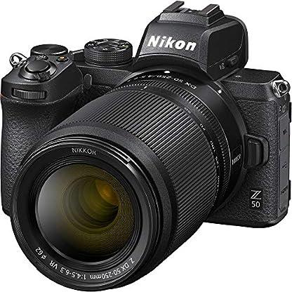 Nikon Z50 Mirroless Camera Body with NIKKOR Z DX 16-50mm f/3.5-6.3 VR & NIKKOR Z DX 50-250mm f/4.5-6.3 VR Lens 2