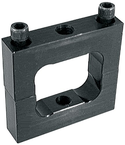"Allstar ALL14189 Black Anodized Aluminum Ballast Bracket for 2"" x 2"" Square Tubing"