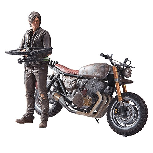 Box Set Mcfarlane Toys - McFarlane Toys The Walking Dead TV Daryl Dixon with Custom Bike Deluxe Box Set