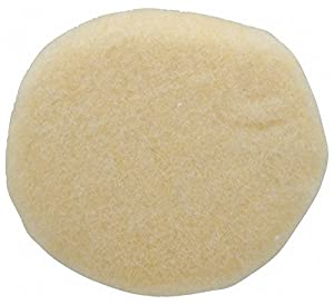 "5"" Diam Sheepskin Wool Bonnet Pad, Sheepskin Wool"