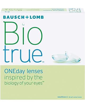 a68e83fc91 Bausch & Lomb - Biotrue One Day - Lentes de Contacto Esféricas Diarias -  Pack de