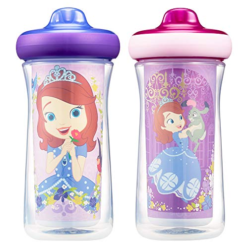 The First Years Disney Sofia Insulated Hard Spout Sippy Cups