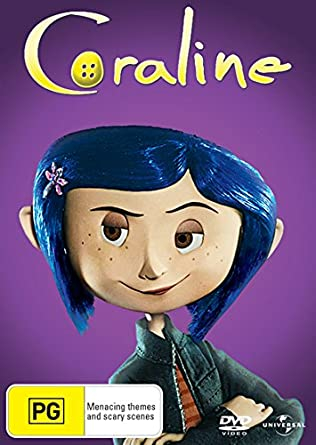 Amazon Com Coraline Big Face Packaging Non Usa Format Pal Region 4 Import Australia Henry Selick Movies Tv